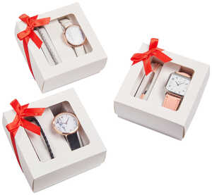 OYANDA®  Damen-Armbanduhr-Set