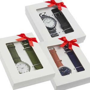 TOWNLAND®  Herren-Armbanduhr-Set