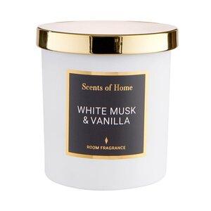 SCENTS OF HOME Duftkerze White Musk & Vanilla