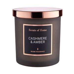 SCENTS OF HOME Duftkerze Cashmere & Amber