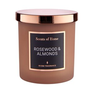 SCENTS OF HOME Duftkerze Rosewood & Almond
