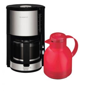 Krups ProAroma Plus Glas-Kaffeemaschine KM3210 + Gratis  Isolierkanne Emsa Samba