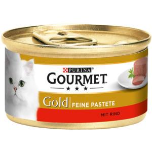 12 x 85g Gourmet Gold Feine Pastete Rind (Multipack)