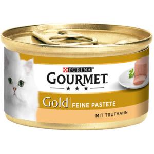 12 x 85g Gourmet Gold Feine Pastete Truthahn (Multipack)
