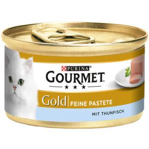 12 x 85g Gourmet Gold Feine Pastete Thunfisch (Multipack)