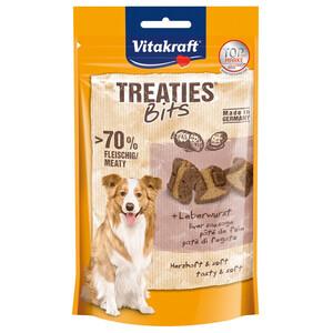 6 x 120g Vitakraft Hundesnack Treaties Bits Leberwurst (Multipack)