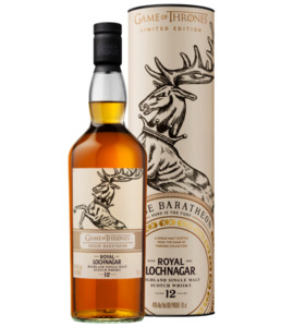 "Royal Lochnagar Whisky 12y, Game of Thrones House ""Baratheon"""