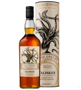 "Talisker Whisky, Game of Thrones House ""Greyjoy"""