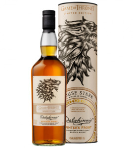 "Dalwhinnie Whisky, Game of Thrones House ""Stark"""