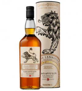 "Lagavulin Whisky 9y, Game of Thrones House ""Lannister"""