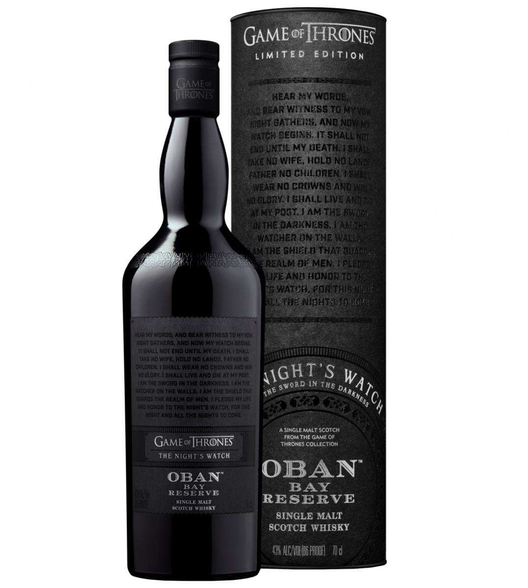 """Bild 1 von Oban Bay Reserve Whisky, Games of Thrones """"Night"""""""