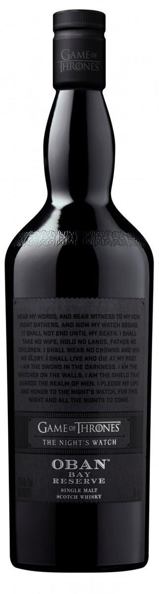 """Bild 3 von Oban Bay Reserve Whisky, Games of Thrones """"Night"""""""