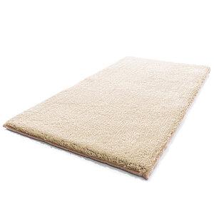 "Sensino XL - Badteppich ""Hochflor"", ca. 60 x 110 cm - Sand"