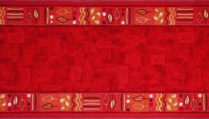 Bella Casa Teppichläufer Napoli, ca. 67 x 150 cm, Rot