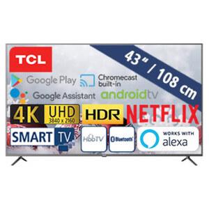 43EP640 • 2 x HDMI, USB, CI+ • geeignet für Kabel-, Sat- und DVB-T2-Empfang • Maße: H 57,2 x B 97 x T 7,8 cm • Energie-Effizienz A (Spektrum A+++ bis D)