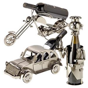 Flaschenhalter - Metall - versch. Ausführungen