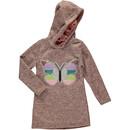 Bild 1 von Mädchen Sweatkleidchen mit Schmetterlingsprint