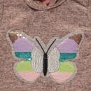 Bild 3 von Mädchen Sweatkleidchen mit Schmetterlingsprint