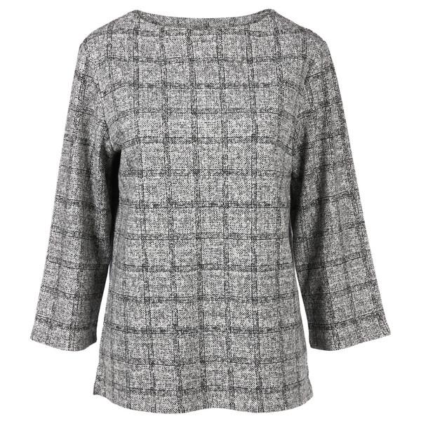 Damen Sweatshirt in kastiger Form