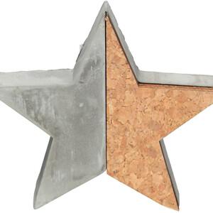 Weihnachts Stern Untersetzer 16x2x16 cm