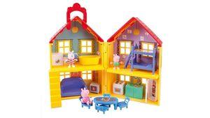 Jazwares - Peppa Pig - Peppa's Familienhaus