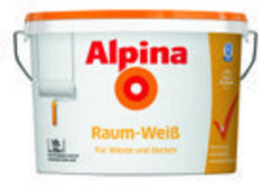 Alpina Raum-Weiß Innenfarbe