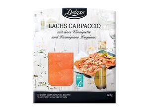 ASC Lachs-Carpaccio mit Parmigiano Reggiano