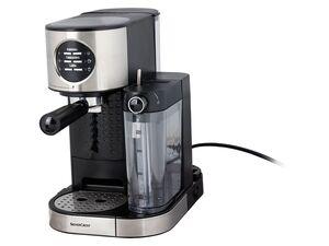 SILVERCREST® Espressomaschine mit Milchaufschäumer KAT SEMM 1470 A1