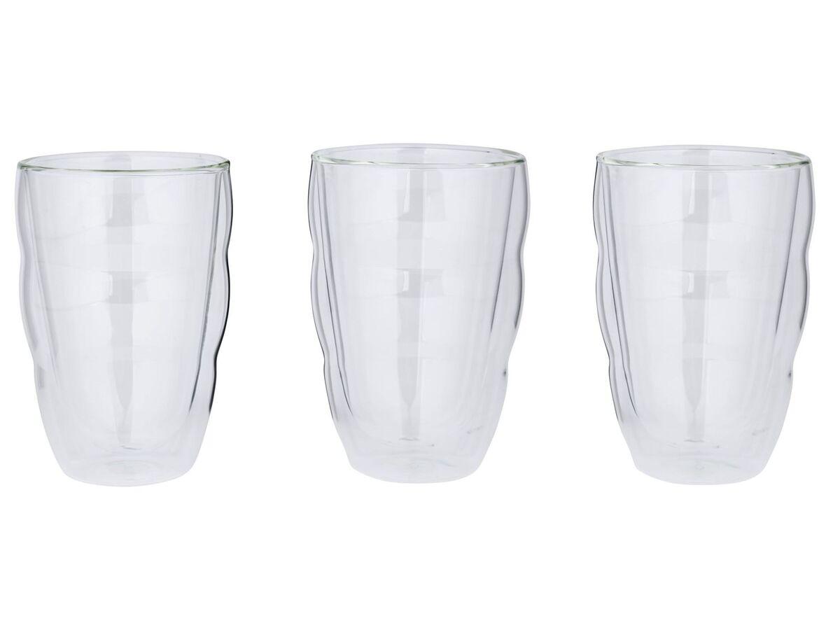 Bild 2 von BODUM Thermoglas 0,35L Latte Macchiato 2er/ Thermoglas 0,25L / Cappuccino 3er/ Thermoglas 0,3L / Tee 2er