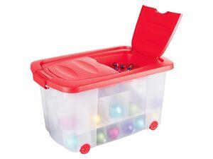 CASSETTI® Aufbewahrungsbox für Weihnachtsbaumschmuck