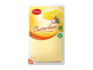 Butterkäse, in Scheiben