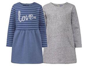 LUPILU® 2 Baby Mädchen Sweatkleider