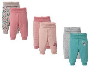 LUPILU® Baby Mädchen Jogginghose 2er Pure Collection