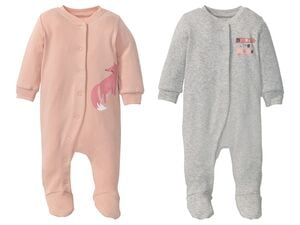 LUPILU® Baby Mädchen Schlafoverall Pure Collection