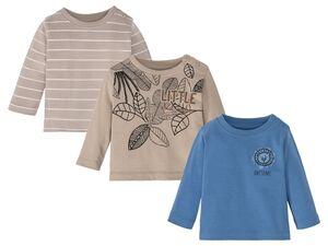 LUPILU® Baby Jungen Langarmshirt Pure Collection
