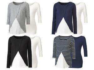 ESMARA® 2 Damen Umstandsshirts