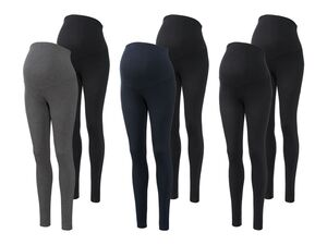 ESMARA® 2 Damen Umstandsleggings