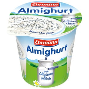Ehrmann Almighurt Mohn-Marzipan 150g