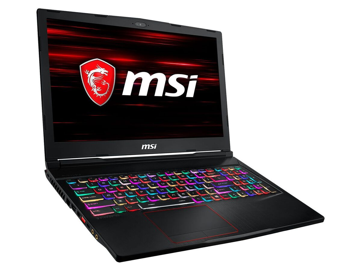 "Bild 2 von MSI GE63 9SE-622 Gaming Laptop - 15"" FHD / i7-9750H / 16GB RAM / 512GB SSD + 1TB HDD / RTX 2060 6GB / Win 10 Home"