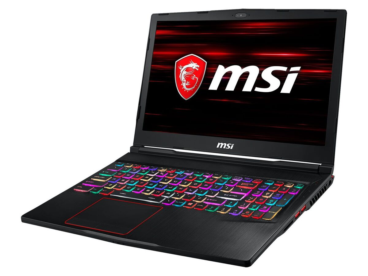 "Bild 4 von MSI GE63 9SE-622 Gaming Laptop - 15"" FHD / i7-9750H / 16GB RAM / 512GB SSD + 1TB HDD / RTX 2060 6GB / Win 10 Home"