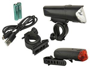 FISCHER LED Leuchtenset 40/20/10 Lux POWER CHARGE