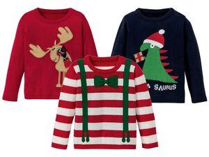 LUPILU® Kleinkinder Jungen Weihnachtspullover