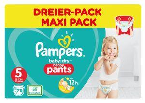 Pampers Pants Gr. 5, Dreier-Pack