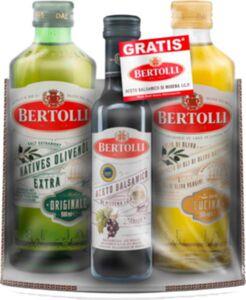 Bertolli Olivenöl Originale 500ml + Cucina 500ml + Aceto Balsamico 250ml