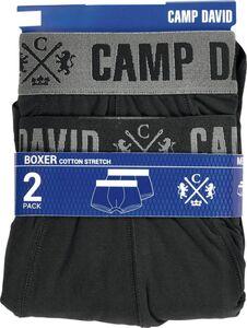 Camp David Retroshorts, 2er Pack - schwarz, Gr. M