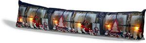 Dekor Zugluftstopper mit LED - Geschenke