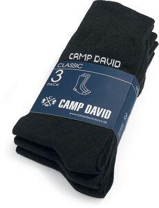 Camp David Business-Socken, 3er Pack - schwarz, Gr. 39/42