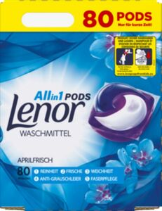 Lenor All-in 1 Pods Aprilfrisch 80 WL