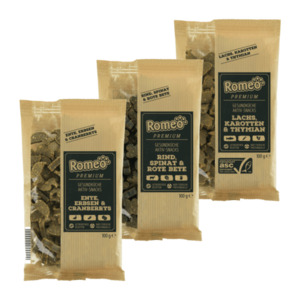 ROMEO     Premium Aktiv-Snacks