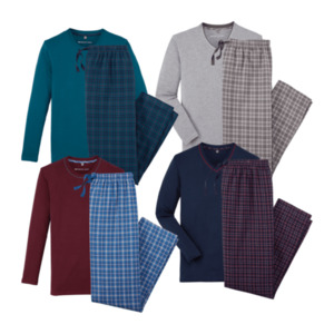 ENRICO MORI     Flanell-Pyjama